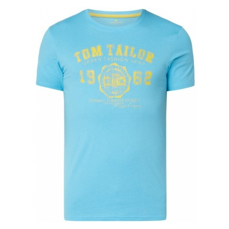 T-shirt z nadrukiem z logo Tom Tailor