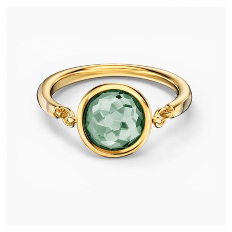 Pierścionek Tahlia, zielony, w odcieniu złota Swarovski