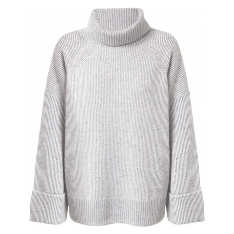 ESPRIT Sweter 'Vanis' jasnoszary