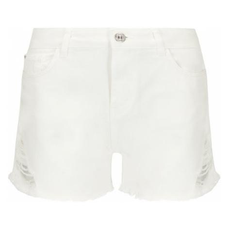 My Twin Szorty jeansowe 191MT2191 Biały