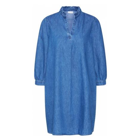 VILA Sukienka 'VITYKA 3/4 SHORT DRESS' niebieski
