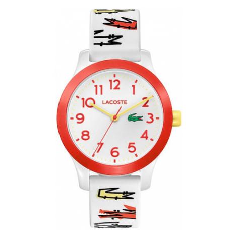 Lacoste Zegarek L1212 2030018 Biały