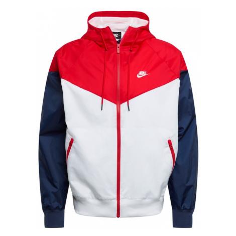 Nike Sportswear Kurtka przejściowa granatowy / czerwony