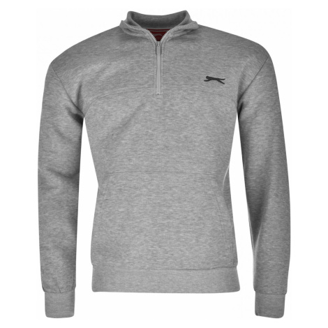 Slazenger Quarter Zip Fleece Top Mens