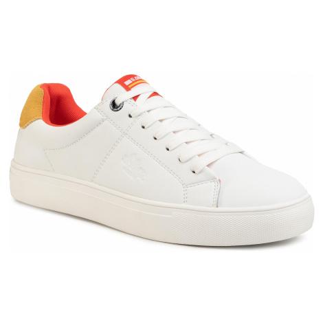 Sneakersy S.OLIVER - 5-13632-24 White/Orange 169