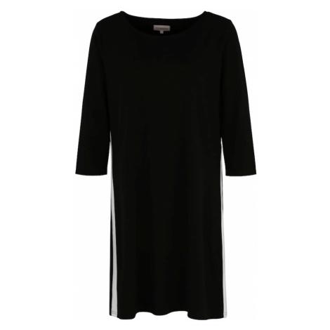 ONLY Carmakoma Sukienka 'Jennifer' czarny / biały