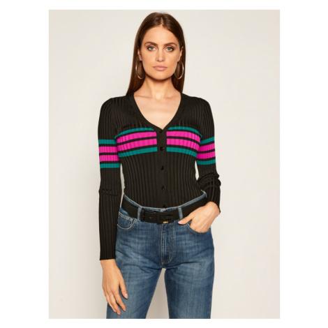 Guess Sweter Lisa W0YR65 Z2G50 Czarny Slim Fit