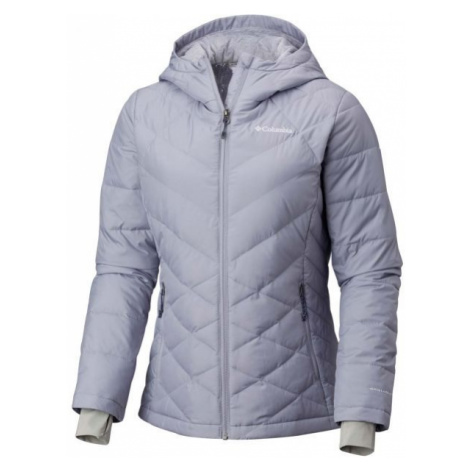 Columbia HEAVENLY HOODED JACKET szary S - Kurtka damska
