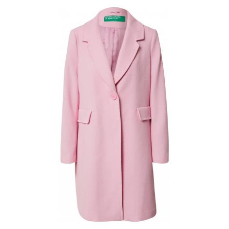UNITED COLORS OF BENETTON Płaszcz przejściowy różowy pudrowy