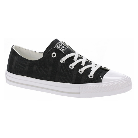 buty Converse Chuck Taylor All Star Gemma Engineered Lace OX - 555843/Black/White/Mouse