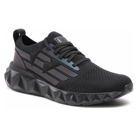 Sneakersy EA7 EMPORIO ARMANI - X8X048 XK202 N400 Black/Iridescent