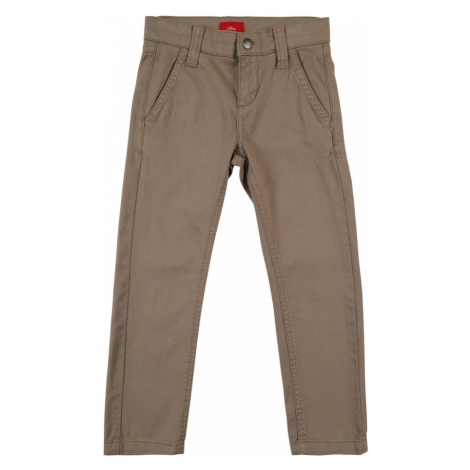 S.Oliver Junior Spodnie jasnobrązowy