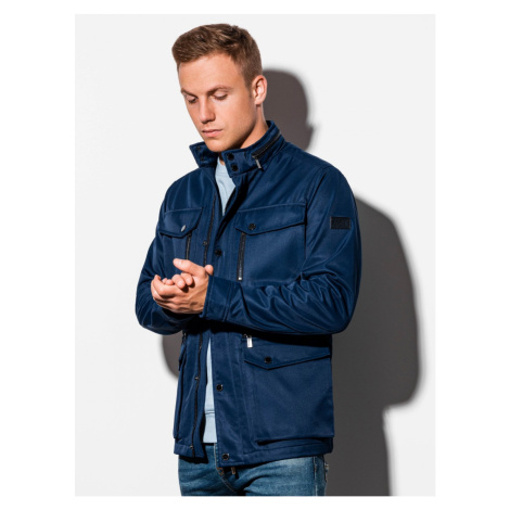 Ombre Clothing Men's mid-season quilted jacket C444