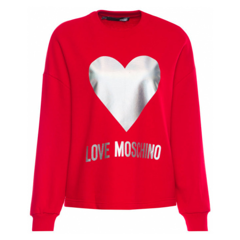 LOVE MOSCHINO Bluza W635504M 4068 Loose Fit