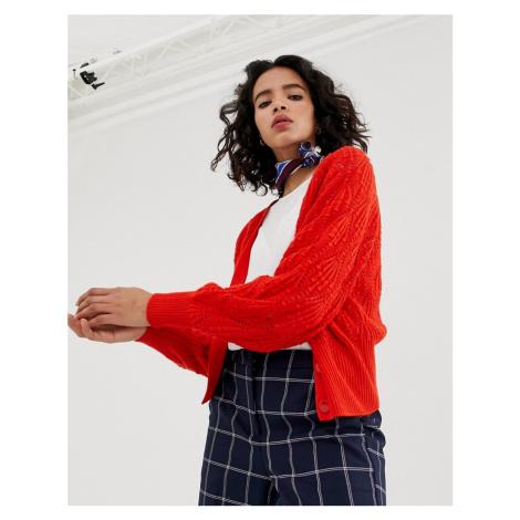 Vero Moda v neck button front cardigan