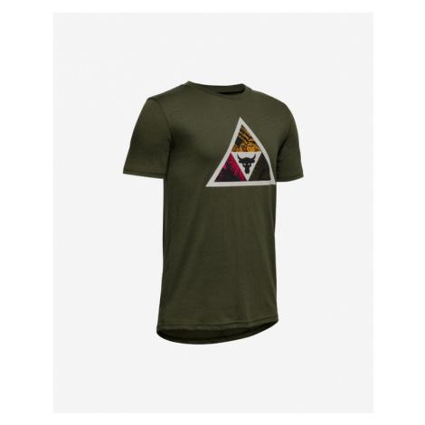 Under Armour Project Rock Brama Bull Koszulka dziecięce Zielony