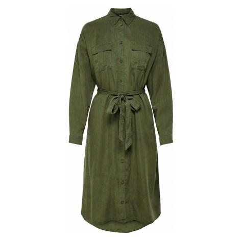 ONLY Sukienka koszulowa oliwkowy