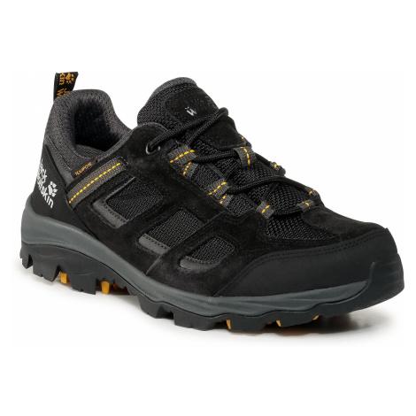 Trekkingi JACK WOLFSKIN - Vojo 3 Texapore Low M 4042441 Black/Burly Yellow Xt