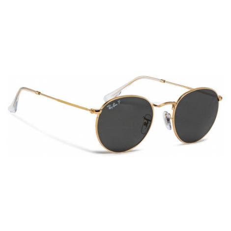 Ray-Ban Okulary przeciwsłoneczne Round Metal 0RB3447 919648 Czarny