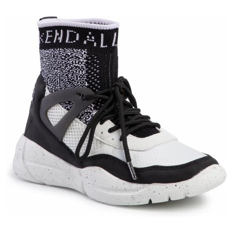 Sneakersy KENDALL + KYLIE - North-Hi Black/White