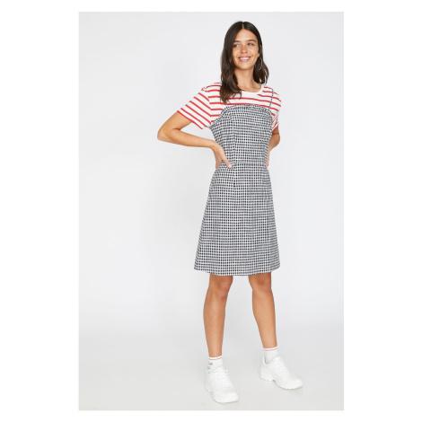 Koton Damska sukienka w kratę