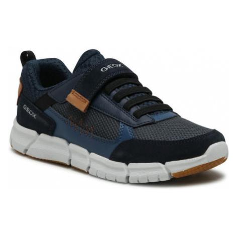 Geox Sneakersy J Flexyper B. B J159BB 01422 CF46N D Granatowy