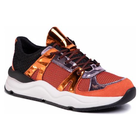Sneakersy GEOX - D Topazio A D02GDA 014BN C2T7L Orange/Dk Orange