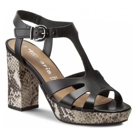 Sandały TAMARIS - 1-28011-36 Black 001