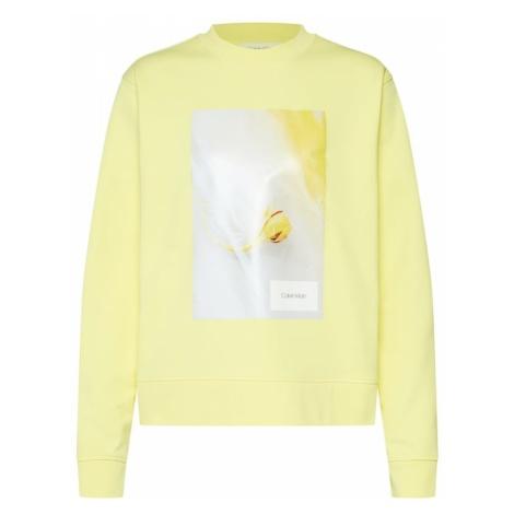Calvin Klein Bluzka sportowa 'GRAPHIC FLOWER' żółty / mieszane kolory