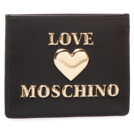 Etui na karty kredytowe LOVE MOSCHINO - JC5608PP0BLE0000 Nero