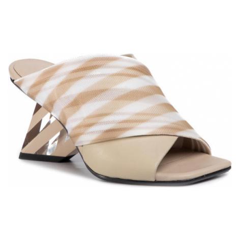 United Nude Klapki Rockit Op Sandal 1053516614951 Beżowy