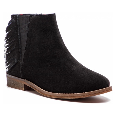 Trzewiki PEPE JEANS - Nelly Fringes PGS50127 Black 999