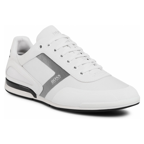 Sneakersy BOSS - Saturn 50439553 10225762 01 White 100 Hugo Boss