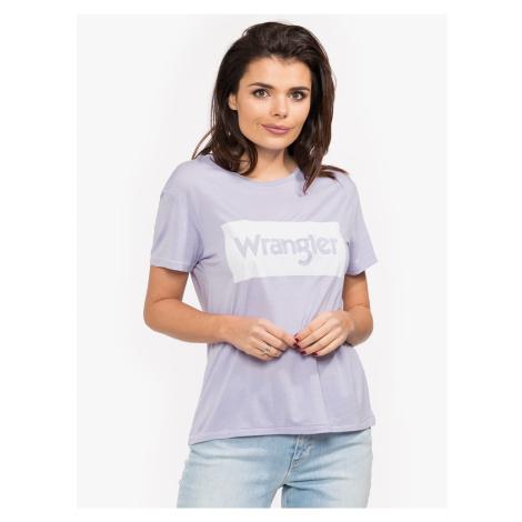 "Wrangler ""Drape Tee"" Lilac"