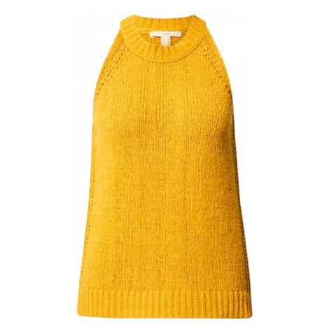 ESPRIT Top złoty żółty