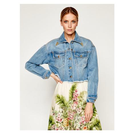 Versace Jeans Couture Kurtka jeansowa C0HVB99I Niebieski Regular Fit