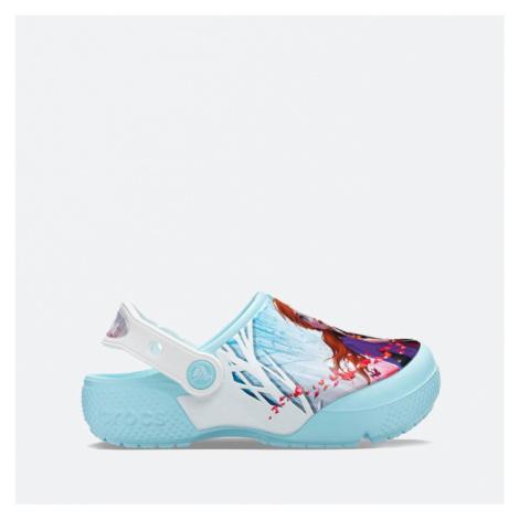 Klapki dziecięce Crocs Ol Disney Frozen 2 Cg K 206167 ICE BLUE