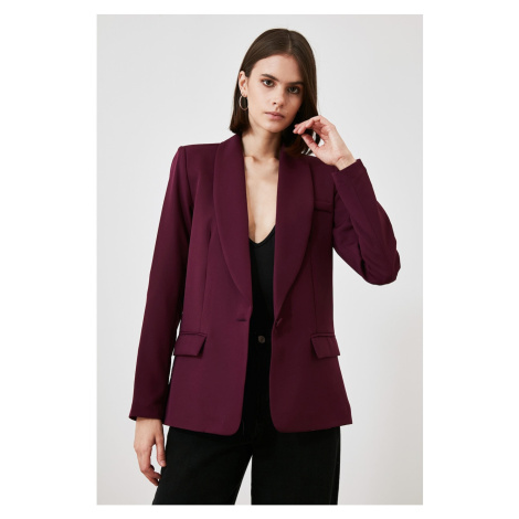 Trendyol Purple Pocket Jacket