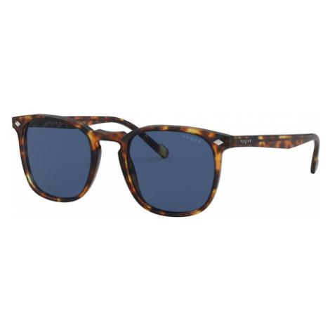 VOGUE Eyewear Okulary przeciwsłoneczne niebieski / brązowy