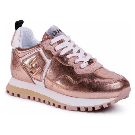 Sneakersy LIU JO - Wonder BXX061 P0291 Rose Gold A7771