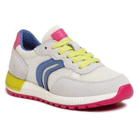 Sneakersy GEOX - J Alben G. B J02AQB 01422 C0653 M White/Multicolor