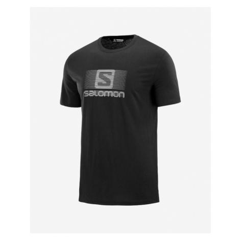 Salomon Blend Logo Koszulka Czarny