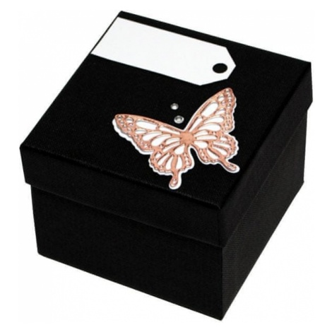 Giftisimo Luksusowy pudełko z brązową muszką