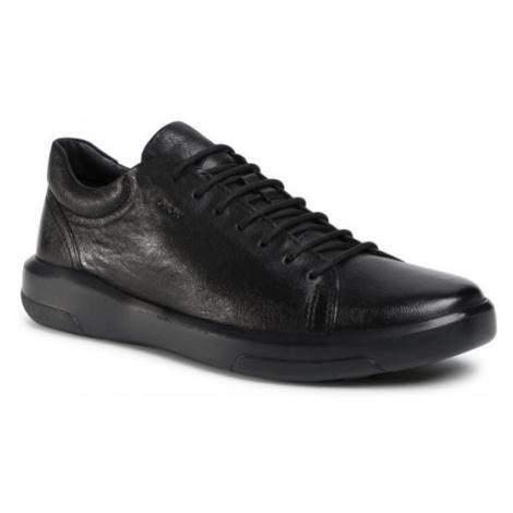 Geox Sneakersy U Samuele D U04A3D 00081 C9999 Czarny