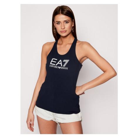 EA7 Emporio Armani Top 3HTH51 TJ12Z 1554 Granatowy Regular Fit