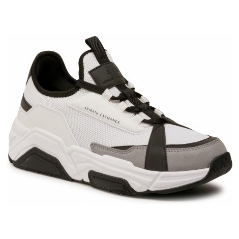 Sneakersy ARMANI EXCHANGE - XUX065 XV259 D611 Opt White/Black
