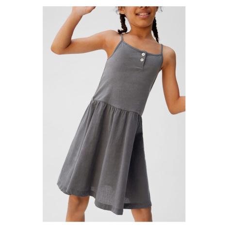Mango Kids - Sukienka dziecięca Cuba 104-164 cm