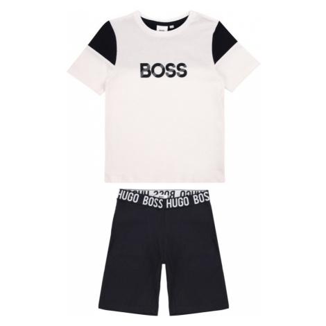 Komplet t-shirt i spodenki Boss Hugo Boss