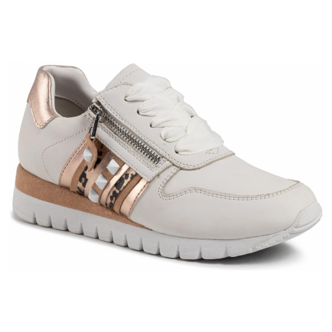 Sneakersy CAPRICE - 9-23701-24 White/Rosegold 196