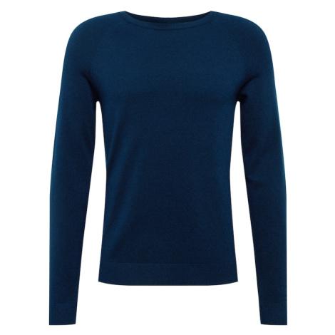 Only & Sons Sweter 'MIKKEL' ciemny niebieski